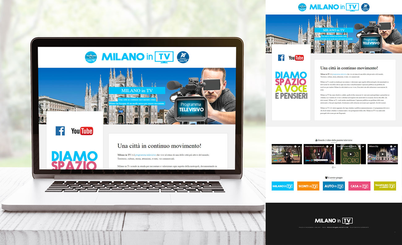 Milano in TV